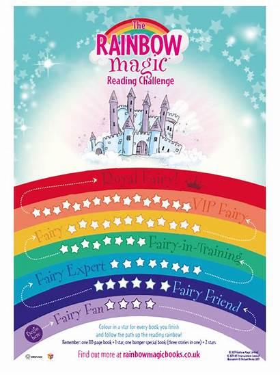 Rainbow Magic Poster Reading Activities Challenge Fun