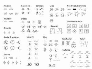fileelectrical symbols iecsvg wikimedia commons With electrical symbols electrical diagram symbols