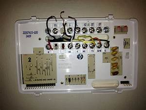 Hello  I Am Trying To Wire A Honeywell T8611g2028 Thermostat