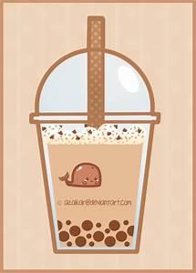 Chocolate Bubble Tea Whale by Azaikar on DeviantArt