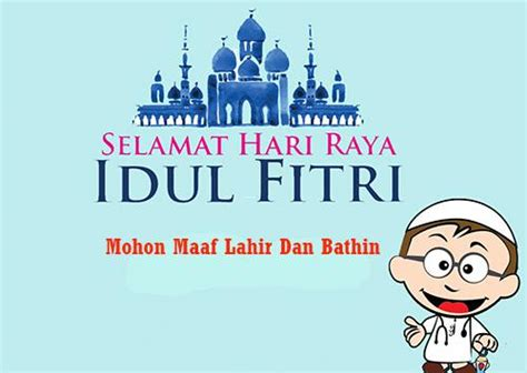 kata kata ucapan hari raya idul fitri   menyentuh hati   islami