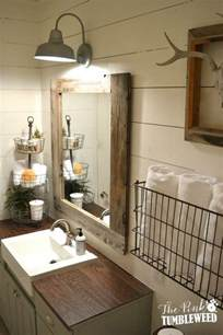 rustic bathrooms ideas rustic farmhouse bathroom ideas hative