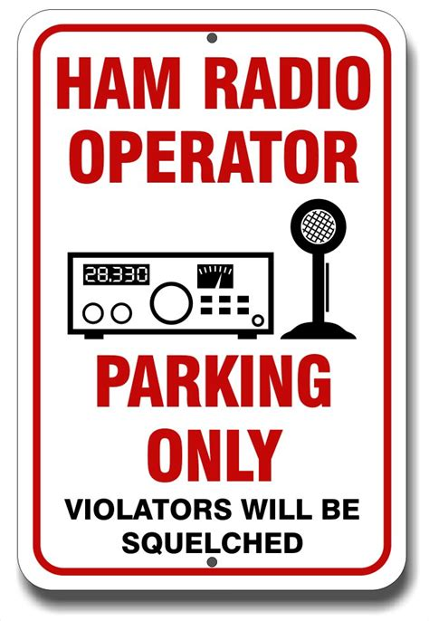 signs ham crazy ham radio gifts  fun stuff amateur