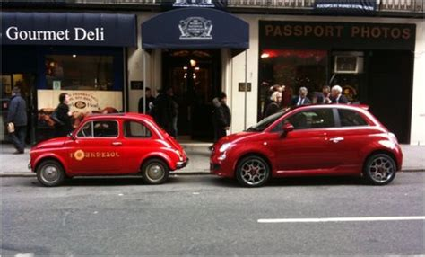 Fiat 500 Manhattan by Driving The Fiat 500 A Spicy Mini Meatball The New York