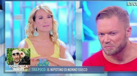 Figli Vasco Il Figlio Di Vasco A Domenica Live Davide Parla