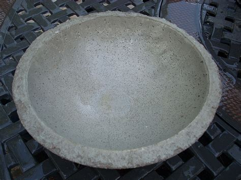 easy to make concrete bowls and planters additional