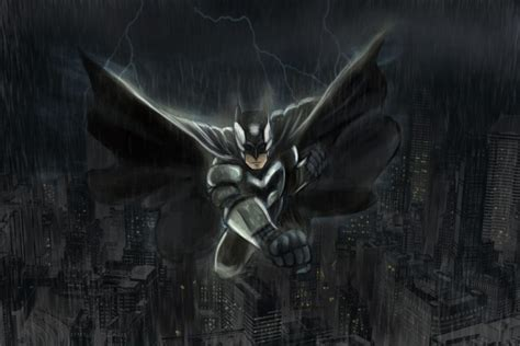 Batman Anime Wallpaper - anime batman black monochrome 4k wallpaper best wallpapers