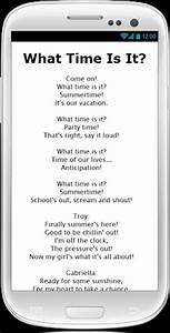 Download High School Musical 2 Lyrics for Android by ...