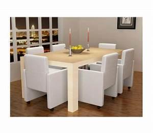 Küchen Und Esszimmerstühle : vidaxl esszimmerst hle 6 stk kunstleder wei g nstig kaufen ~ Watch28wear.com Haus und Dekorationen