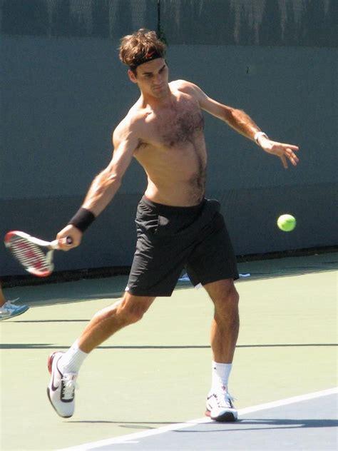 roger federer shirtless sports wallpapers