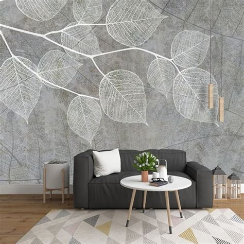 Living Room Wallpaper Grey Walls by Aliexpress Buy Modern Light Grey Wallpapers For