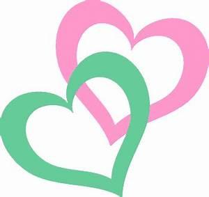 Double Heart Valentine Clip Art - ClipArt Best - ClipArt Best