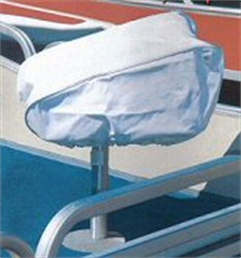 Pontoon Boat Cover With Drawstring by Boat Seat Deck Chair Covers At Easternmarine