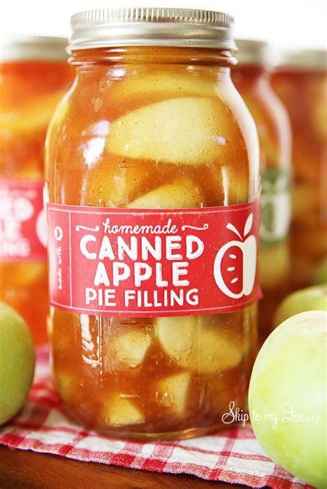 Crazy as it sounds, recipes with canned pie fillings aren't just for making pies. Homemade Apple Pie Filling Recipe 4 | Just A Pinch Recipes