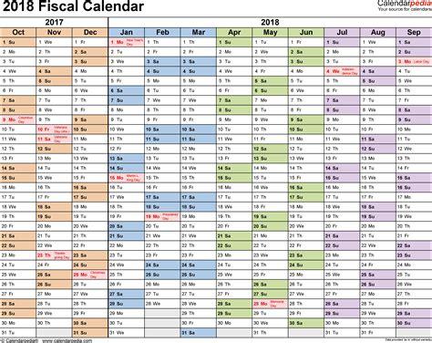 Business Quarters 2018 Calendar Quarters Year Printable Template Free Indo