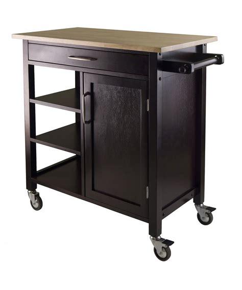 kitchen island rolling cart winsome wood mali kitchen cart beyond stores