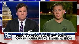 Shooting Survivor Colton Haab Says CNN Wrote Question For ...