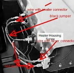 i a kenmore elite dryer 110 i changed the heat element but lost my diagram for the 2