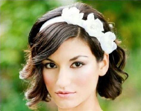 Wedding For Short Hair : Wedding Hairstyles For Short Hair