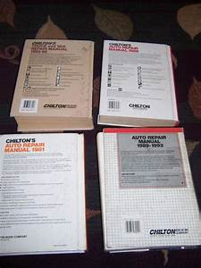 Find 4 Chilton Auto Repair Manuals 1974