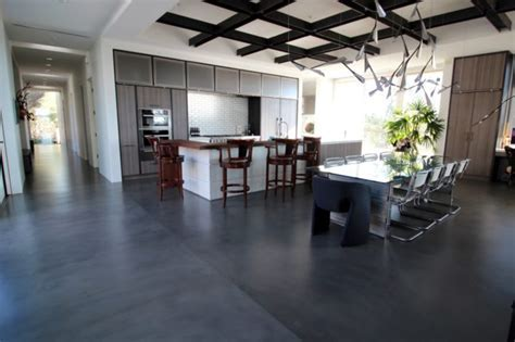 High End Concrete Flooring For San Diego Home   Life Deck