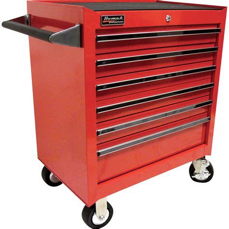Tool Storage Cupboard by Homak Pro Series 27in 6 Drawer Rolling Tool Cabinet 26