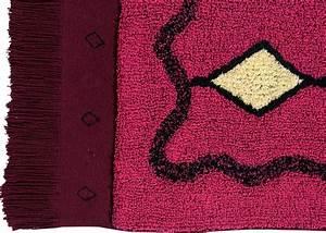 Tapis Rose Fushia : tapis bordeaux motifs berb res kilim chez ksl living ~ Teatrodelosmanantiales.com Idées de Décoration
