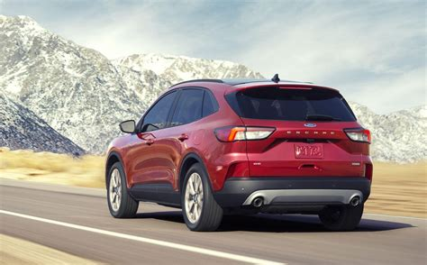 ford escape  streamlined   hybrid options