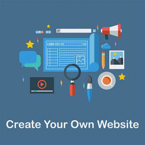 Create Your Own by Create Your Own Website Icons On Creative Market