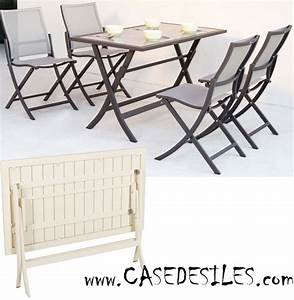 Table Exterieur Pliante : petite table exterieur pas cher mobilier de jardin design objets decoration maison ~ Teatrodelosmanantiales.com Idées de Décoration