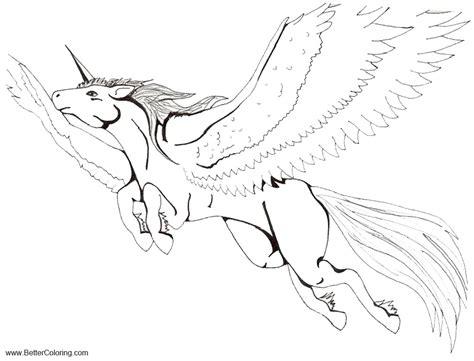 alicorn coloring pages  art  sada chan