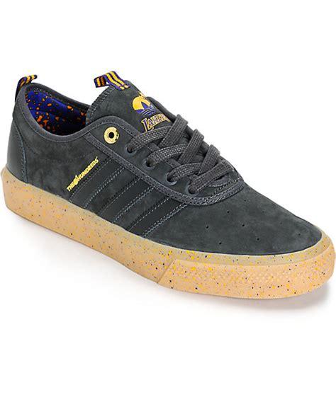 adidas x the hundreds adi ease lakers shoes zumiez
