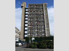 AD Classics Trellick Tower Erno Goldfinger ArchDaily