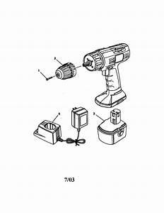 Craftsman 38 U0026quot  Cordless Drill  Driver Parts