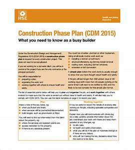 health and safety plan templates 10 free word pdf With contractor safety plan template