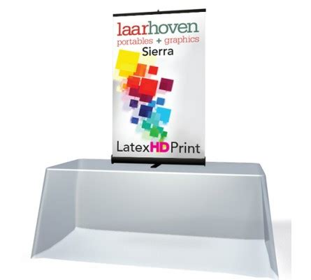table top banner display sierra table top banner stand display