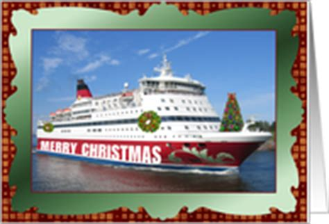 cruise  industry christmas cards  greeting card