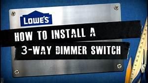 3 Way Dimmer Switch Wiring Diagram