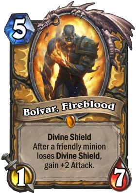 bolvar fireblood hearthstone wiki