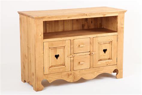meuble haut cuisine bois meuble en pin massif cuisine en image