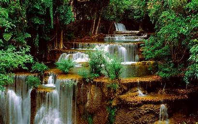 Waterfall Screensavers Wallpapers Backgrounds Cave