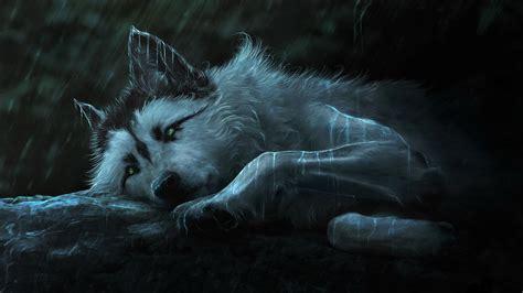 fantasy wolf painting hd  wallpaper