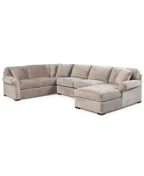 chaise h et h joyce fabric sectional sofa 3 apartment sofa