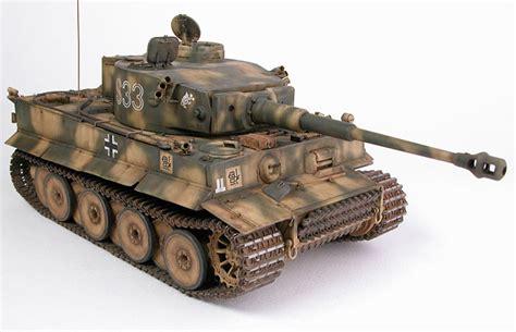 Tiger I, Early Version by Chris Wauchop (Tamiya 1/35)