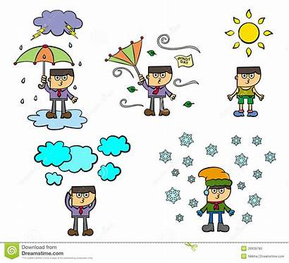 Weather Conditions Clipart Condition Clip Windy Different