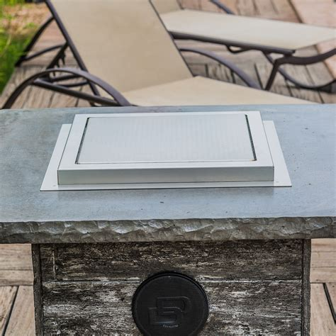 We recommend having 2.5 of clearance on each side (5 total) between your fire pit opening and the wind guard for optimal performance. Dancing Fire Pit + Wind Guard (The Montana) - Blazing ...