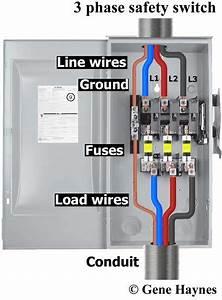 Interruptor De Seguridad Fusible Trif U00e1sico