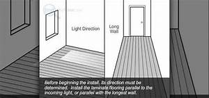 How to install laminate flooring with the glueless method for How to install glueless laminate flooring