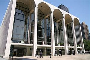 Metropolitan Opera House, Lincoln Center Nyc Pictures ...