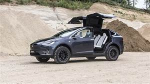 Tesla Modèle X : tesla model x looks like a beast with some off road treatment ~ Medecine-chirurgie-esthetiques.com Avis de Voitures